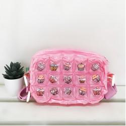 Wallet crossbody-Creamy sweet Cupcake