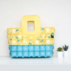 Shopping Bag-S-Daisy White