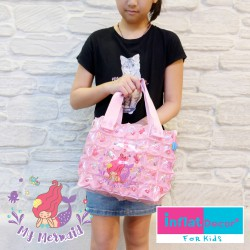 Hand carry Bag-S with Pocket-My Mermaid