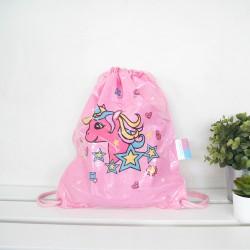 Swimming Bag1-For Kids-Unicorn Pink