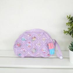 Beauty Bag Semi round shape-Unicorn