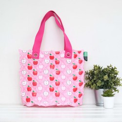 Hand Carry Bag-M Dimond-Apple Fruity