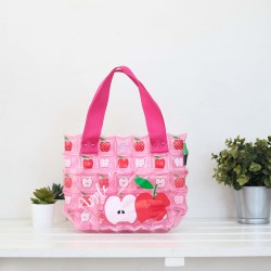 Hand Carry Bag-S with Pocket-Apple Fruity