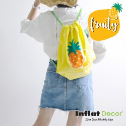 Swim Bag-Pineapple Fruity