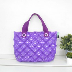 Hand Carry Bag-S-Hot Summer-Dark Purple