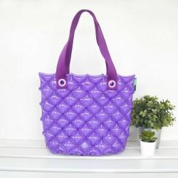 Hand Carry Bag-M-Hot Summer-Dark Purple