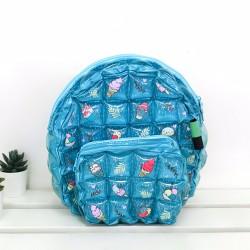 Backpack Oval Shape-S-Icezy Blue