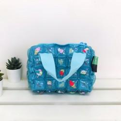 Hand Bag Roll Mini-Icezy Blue