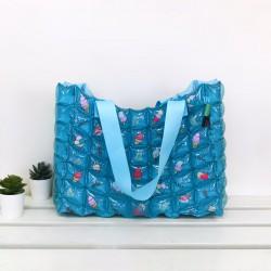 Tote Bag-M Slope-Icezy Blue