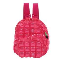 Backpack Oval Shape-S-Neon-Hot Pink