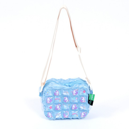 Messenger Bag - XXS - Unicorn Sweet - Blue Sky