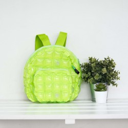 Backpack Oval Shape-S-Neon-Lime Green