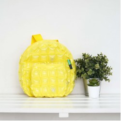 Backpack Oval Shape-S-Neon-Sour Yellow