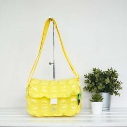 Tote Bag Postman-S-Neon-Sour Yellow