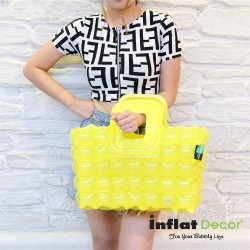 Shopping Bag-S-Neon-Sour Yellow