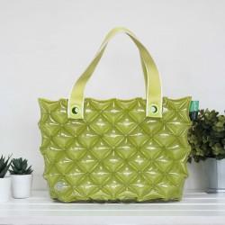 Hand Carry Bag-S Diamond-Pastel Green
