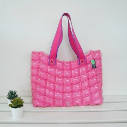 Tote Bag-M Slope Sery-Hot Summer-Pinky