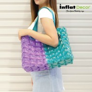 Tote Bag-M (Slope Sery)-TwoTones-SG+CP