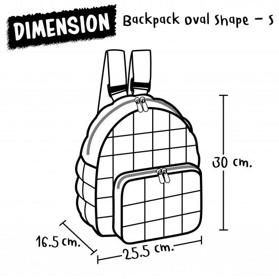 Backpack Oval Shape - S - Unicornsweet - Camine Rose