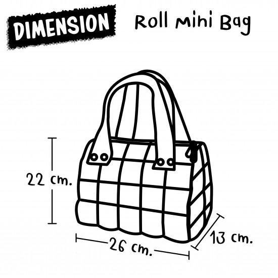 Hand Bag Mini Roll - Unicorn Sweet (Pink)