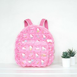 Backpack oval Shape - S - Hello Kitty candy