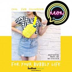 Wallet Waist Bag-Neon-Sour Yellow