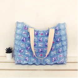 Tote Bag - M Slope - Unicorn Sweet - Blue Sky
