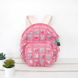 Backpack Oval Shape-S-Watermelon pink